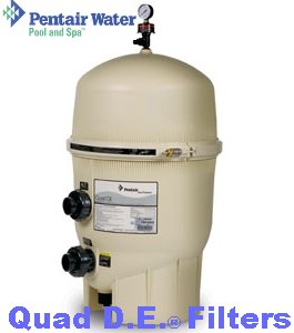Pentair pool filter FNS Plus SMBW Clean and clear sand and D.E Filters