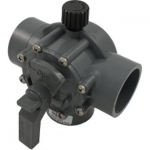 "Jandy Gray Valve 2"" - 2½"" Positive Seal, 3 Port Valve #2875"
