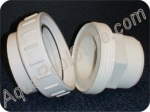 "Half Union 2"" MIP x 2"" SLIP for plumbing 2"" PVC pipe to pump"